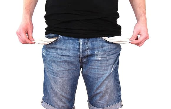 Was tun bei Geldnot?